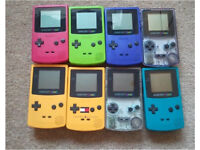 wanted...handheld gameboy consoles