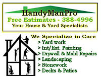 Your Home & Yard Do-It Specialists