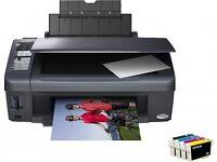 Epson Stylus DX7400 All-in-One Inkjet Printer
