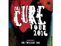 2 x The Cure 1/12/16 Wembley Arena