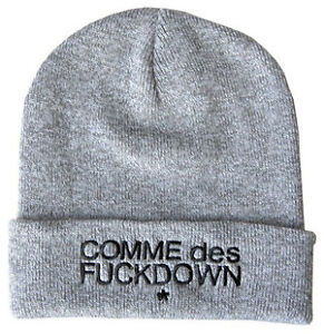 5 style Hip Hop chic SSUR COMME DES FUCKDOWN Knitting Wool Beanie Hat SNAP BACK