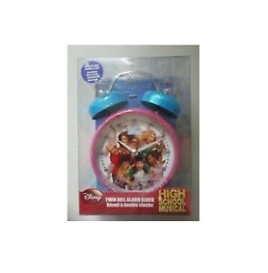 Disney High School Musical Twin Bell Alarm Clock