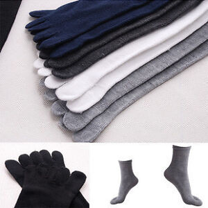 5-Pairs-New-Unisex-five-fingers-toe-socks-absorbent-comfortable-FREE-SHIPPING
