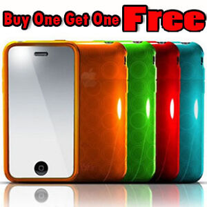 Gel Crystal Soft Case Cover For iPhone 3G /3GS