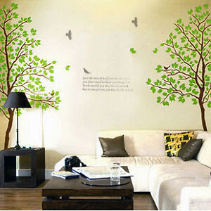 Huge-Trees-70inch-GREEN-LOVER-AB-TWINS-Trees-WALL-DECOR-Wall-Stickers-D698