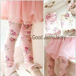 Finely Flowers Tights