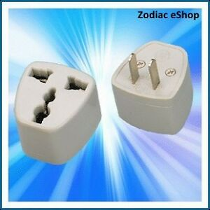 Convert Australia to China, Japan, Thailand, Taiwan, Mexico Travel Plug Adapter