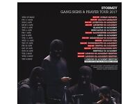 4 x Stormzy standing tickets, Rock City Nottingham, Saturday 29th April 2017