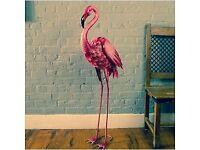 Giant Flamingo Garden Ornament