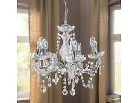 Beautiful 5 light Marie Therese Chandelier