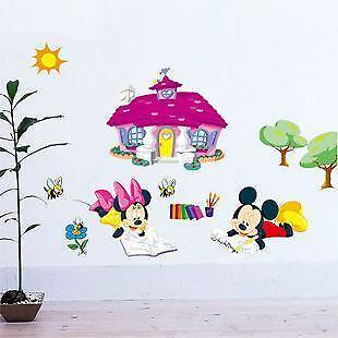 Mickey mouse wandsticker m bel wohnen ebay - Wandsticker mickey mouse ...
