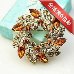BROOCHES / PINS  RHINESTONE