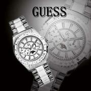 Guess White Ceramic Watch
