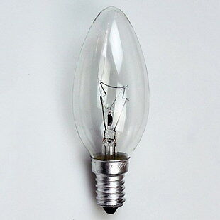 Incandescent SES Candle Bulbs