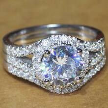 Luxury quality CPP Brand 2 carat NSCD diamond wedding ring Springdale Heights Albury Area Preview