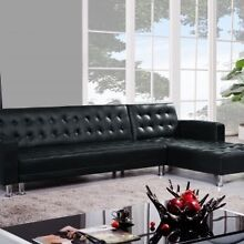 clearance: leather sofa bed for sell $465 only Hurstville Hurstville Area Preview