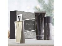 attraction for him gift set x2