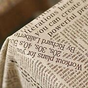 Newspaper Fabric