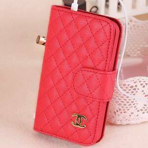 Iphone5 wallet case Red