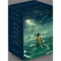 Percy Jackson and The Olympians Boxed Set (The Complete Series)