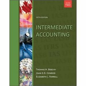 Intermediate Accounting, Vol 2, 5th Ed with Connect Access by Be Kitchener / Waterloo Kitchener Area image 1