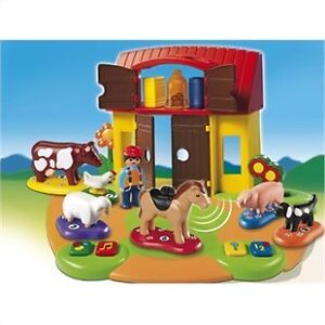 Playmobil Interactive Play and Learn 1.2.3 Farm Ferme 6766