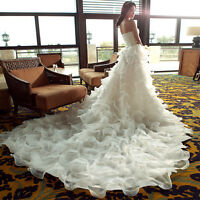 Robe De Marriage/ Wedding Dress/ Fit Size 4 or 6