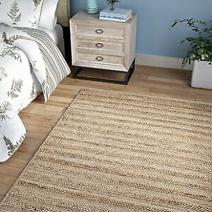 Beautiful large Jute Rug, perfect for living room or dining room