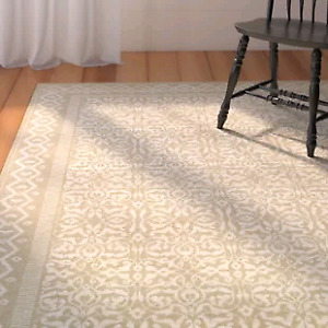 """New Missouri Oyster Rug By August Grove  Rectangle 3'11"""" x 5'6"""""""