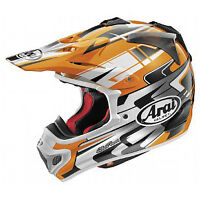 NEW Arai VX Pro 4 Tip (orange) helmet and 100% Racecraft goggles