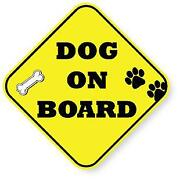 Dog on Board Sticker