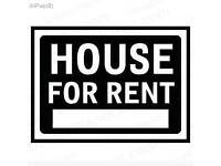 Looking a house/flat 2bed for rent