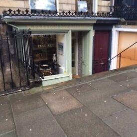 Beautiful Shop for Lease - Edinburgh New Town