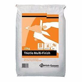 British Gypsum Thistle Multi Finish Plaster 25kg