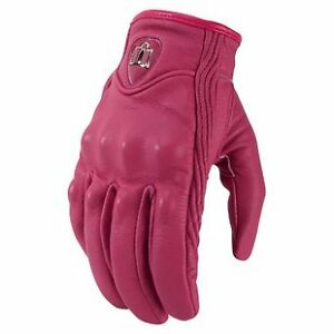 ICON PURSUIT NON-PERFORATED WOMEN GLOVES/GANTS MOTO FEMME