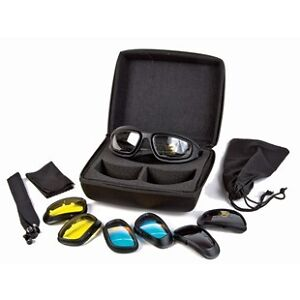Goggles Set With Carrying Case & Changeable Lens