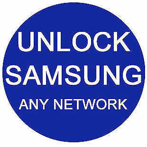 On Spot Unlock Service any Samsung any network start from 8$