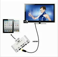 6in1 HDMI SD Micro SD USB Adapter Adapteur iPad 1 2 3 Card
