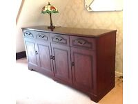 Lovely mahogany type sideboard in good condition. Viewing recommended.