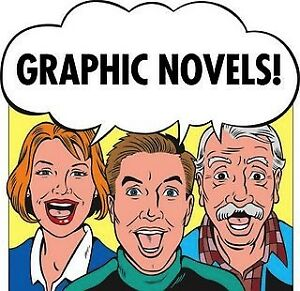 All Graphic Novels 1/2 Priced !!!