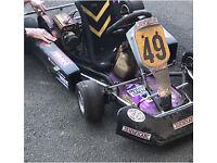 Cormer 60 race kart with log book