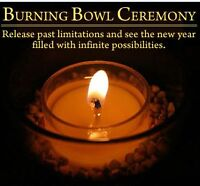 Burning bowl ceremony and video