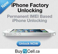 CHEAPEST FACTORY UNLOCK ANY iPHONE ROGERS FIDO TELUS BELL