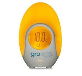Gro Egg - helps you keep your nursery/baby room at the right temperature, also use as night light
