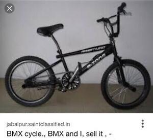 Wan't bmx bike