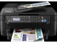 EPSON WF-2650DWF 4-in-1 with Wi-Fi and double-sided printing + 18 ink cartridges