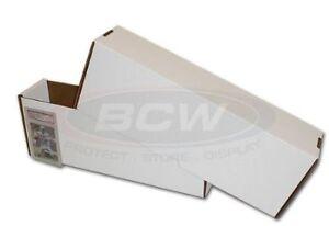 Graded Card White CardBoard Trading Cards Storage Box Kitchener / Waterloo Kitchener Area image 1
