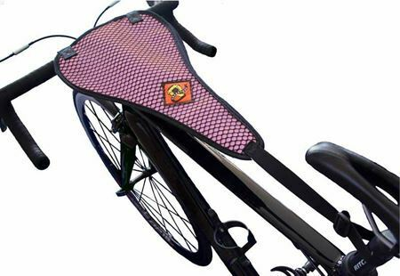 Snakeaqua Sweat Guard For Bicycle Trainer Use