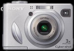 Caméra Sony Cyber-Shot DSC-W5