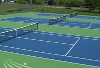 Tennis lessons (Lasalle) and racket stringing & customization